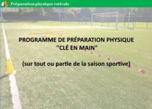programme préparation physique football