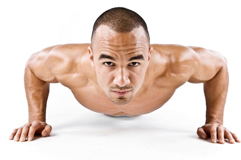 Musculation football sans matériel