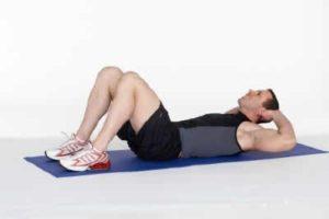 exercice abdo crunch