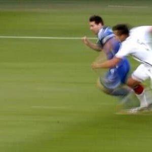 La vitesse du footballeur
