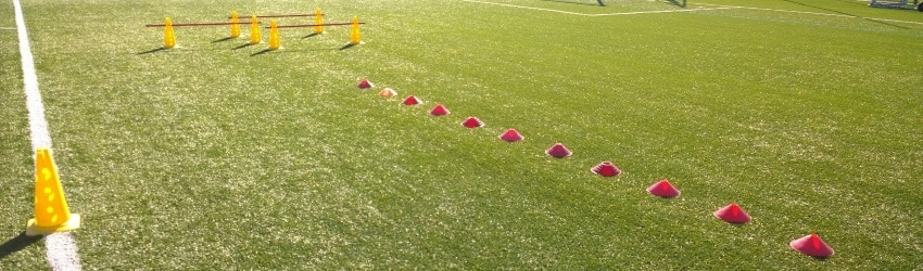 Football fitness training