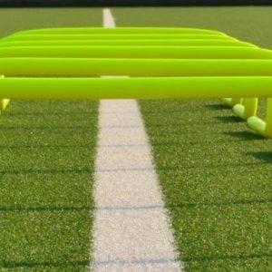 L'utilisation des mini haies au football