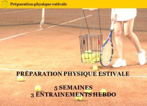 programme préparation physique tennis