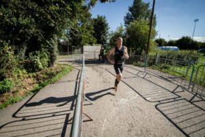 entrainement triathlon course à pied