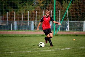 entrainement football U13 physique