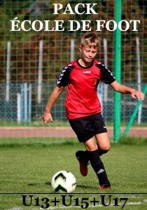 preparation physique football école de foot