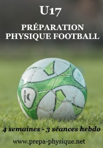 PREPARATION PHYSIQUE FOOtball u17