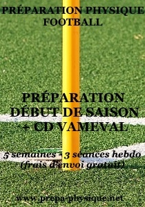 preparation physique football début saison et cd vameval