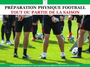 programme preparation physique football