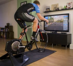 seance home trainer avec zwift
