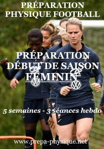 preparation physique football féminin