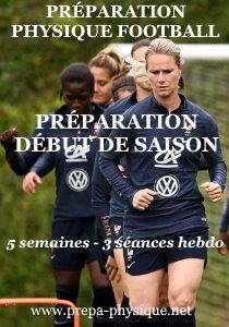 préparation physique football féminin