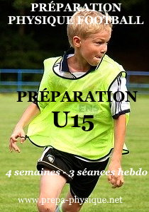 preparation physique football u15