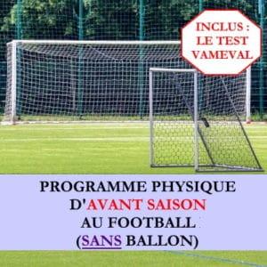 Programme début de saison sans ballon avec Vameval