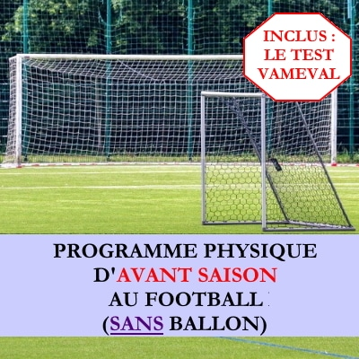 Programme debut saison football sans ballon avec vameval