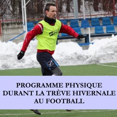 TREVE HIVERNALE AU FOOTBALL
