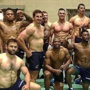 Musculation du haut du corps au rugby sans matériel