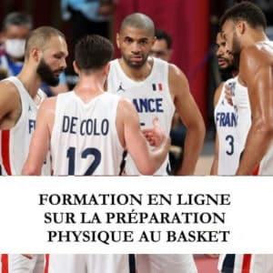 Formation préparateur physique au basket